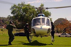 AS350B2 do Núcleo de Operações de Transporte Aéreo/ES