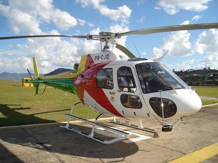 Helicóptero As350B2 do Acre