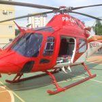 AW119Ke do CBM/GO no 4º Fórum Nacional de Aviação de Segurança Pública