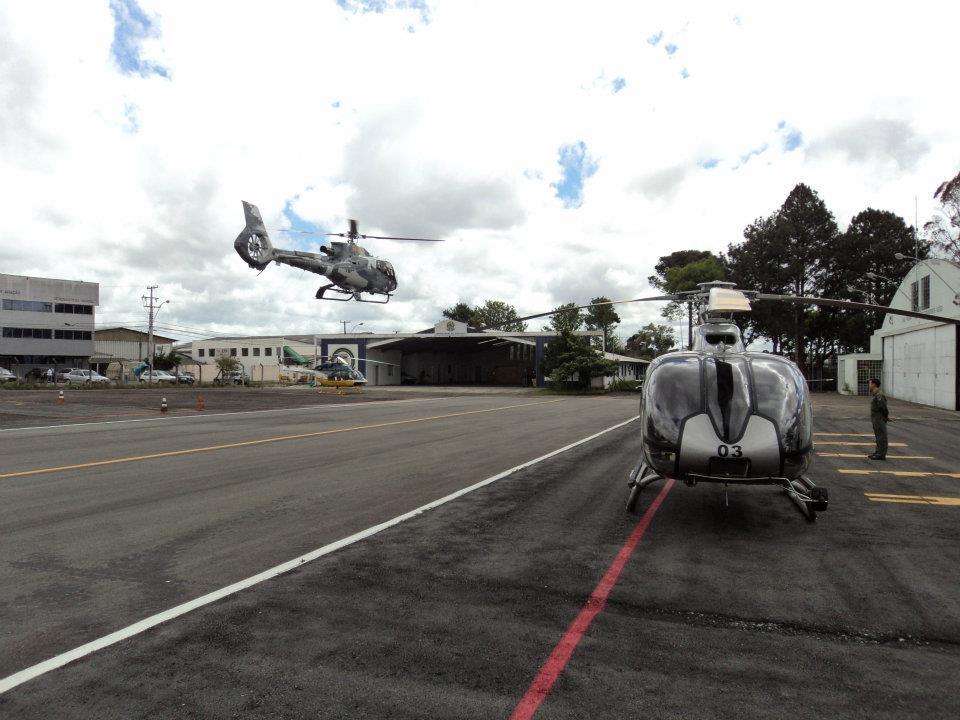 Secretaria de Segurança Pública do Paraná adquiriu o segundo helicóptero do modelo. Foto: Adilar Lima
