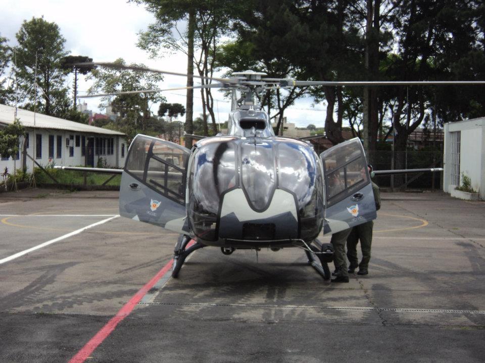 A segunda aeronave EC130 adquirida pela Secretaria de Segurança Pública do Estado do Paraná, entrará em operação neste dia 27 de Outubro, data em que o GRAER comemora um ano de atividades em prol da população. Foto: Adilar Lima
