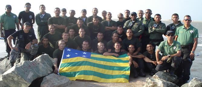 II Curso de Operações Aéreas do GRAer de Goiás realizou treinamento no Grupo de Tático Aéreo - GTA