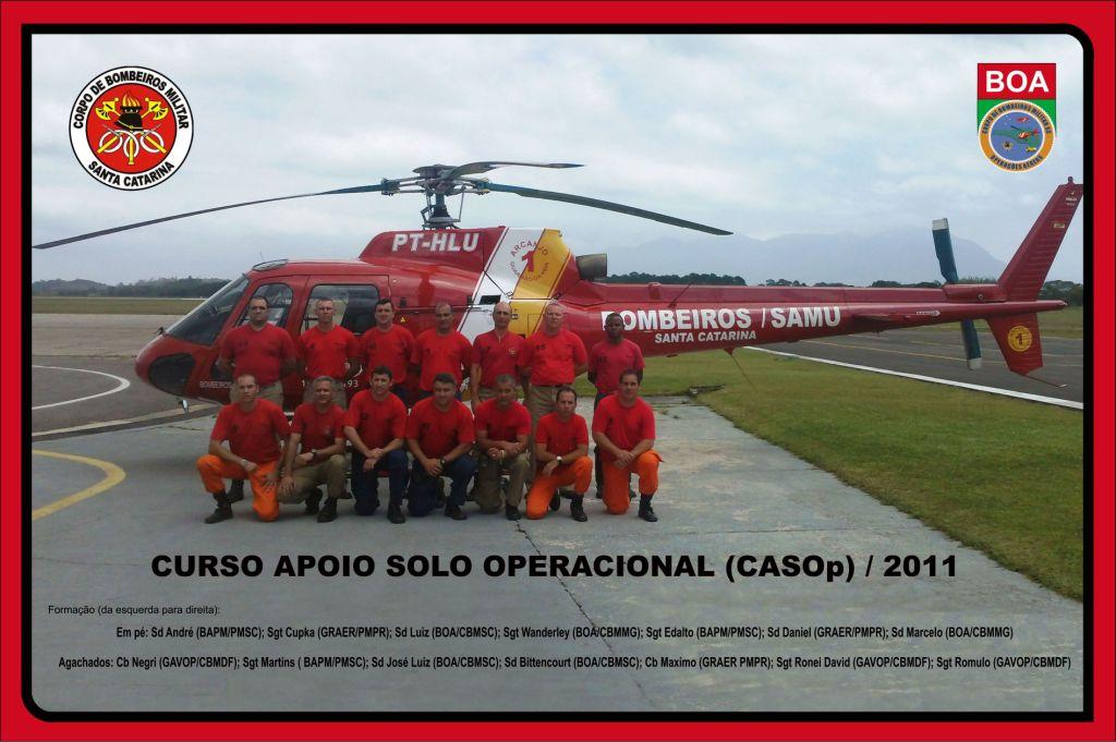 Turma de formandos do CASOp 2011
