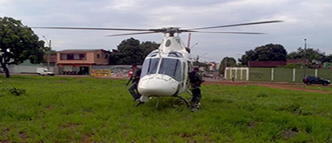 Na tarde do dia 31 de outubro de 2011, o Falcão 02 decolou em apoio a uma equipe do CPC-2, para verificar denuncia a respeito de um possível desmanche.