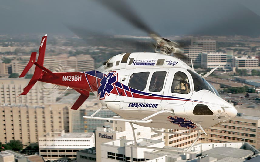 Bell 429 - Foto: Bell Helicopter