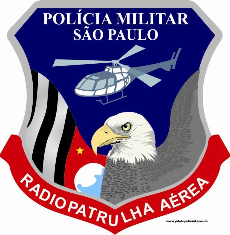 Brasão do GRPAe, da Polícia Militar do Estado de São Paulo