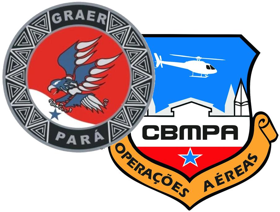 brasoes do Graer/PM e COA/CBM