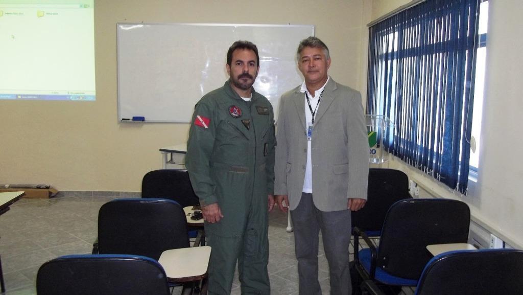 Del. Sobreira e Sr Vital ( coodenador SGSO Infraero)