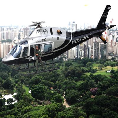 Helicóptero Escorpião da Polícia Civil