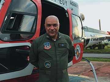 Capitão-médico Ademir Corrêa: trabalho dramático na Cidade Tiradentes. Foto: Cida Souza