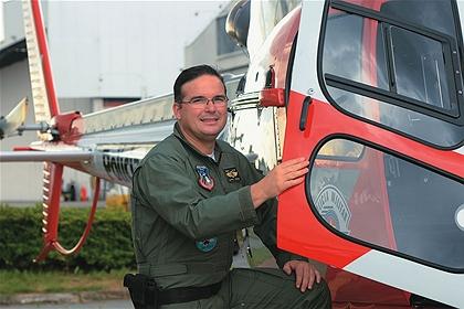 Capitão Cancian: há mais de uma década na equipe especial da Polícia Militar. Foto: Cida Souza