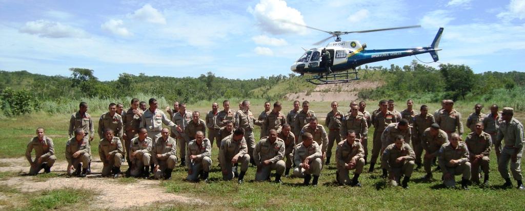 CIOPAer/MT realiza treinamento com 51 (cinquenta e um) alunos cabos do curso de condutores de viatura do CBM/MT.