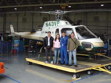 Policiais de Mato Grosso do Sul realizaram treinamento no Traninig Center American Eurocopter, em Texas/EUA