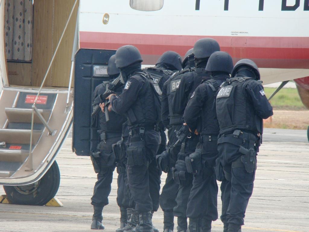 O GTA - AP participou juntamente com membros da POLÍCIA FEDERAL, POLÍCIA CIVIL, POLÍCIA MILITAR, BOMBEIRO MILITAR  e demais funcionários da segurança do INFRAERO do Estado do Amapá do ESAIA- Exercício simulado de apoderamento Ilícito de Aeronave e ESAB- Exercício Simulado de Ameaça de Bomba