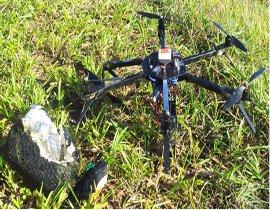 aeromodelo quadricoptero (Drone)