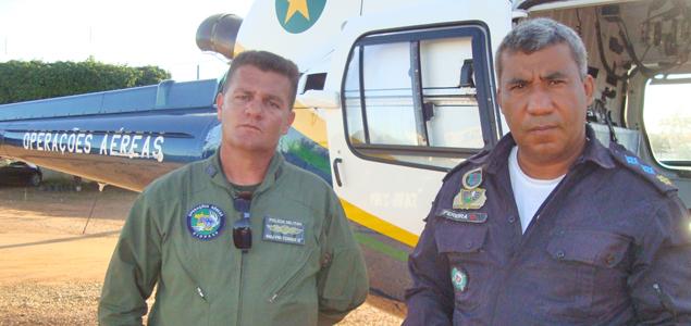 Foto: Major Tomaz e Major Pereira