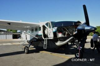 Ciopaer/MT conhece aeronave Cessna Grand Caravan