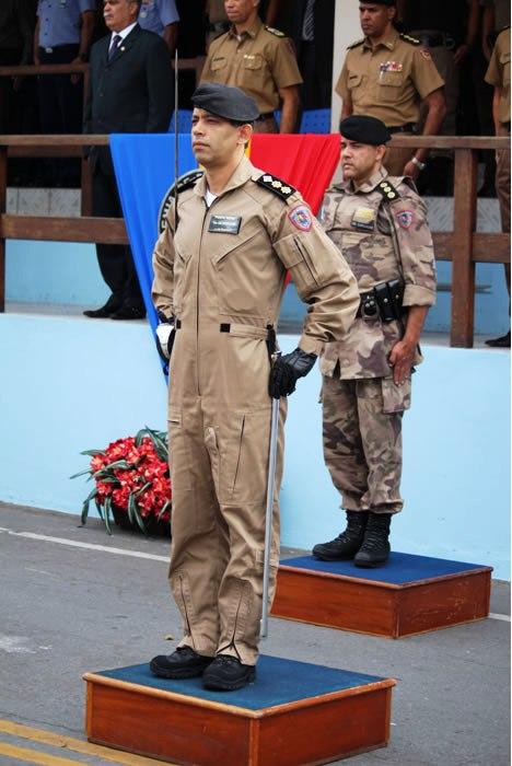 Assumiu o Comando do Batalhão de Rádiopatrulhamento Aéreo da PMMG, o Ten Cel Windson Jéferson Mendes de Oliveira