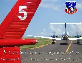 Folder de Divulgação  V - Ciclo de Palestras - modelo 2