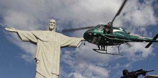 Rio de Janairo ( RJ ) 06/04/2013 - Treinamento do BOPE no Cristo Redentor - Foto Reginaldo Pimenta