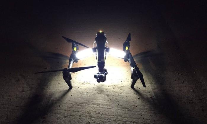 Testes com drones na polícia britânica devem durar seis meses - Reprodução/Twitter