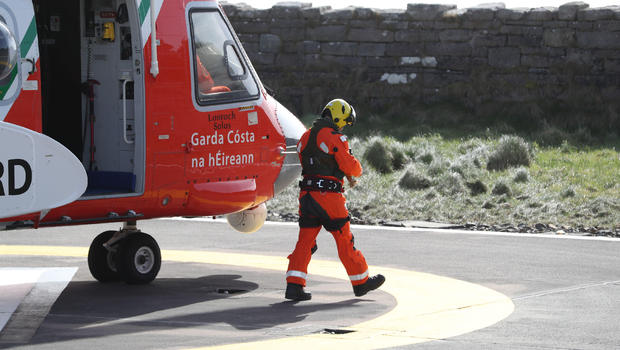 Piloto da Guarda Costeira Irlandesa morre após acidente com helicóptero
