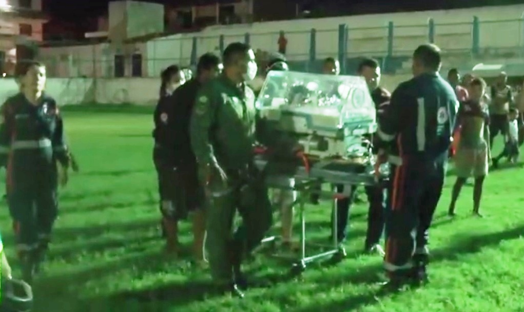 CIOPAer utiliza EC145 para resgatar bebê prematuro de Itapajé para Fortaleza