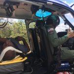 Guardião 02 da BAVAN/Barreiras resgata vítima de acidente na BA-463