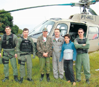 Salvamento terrestre- GRAER/SC - Foto : A Notícia