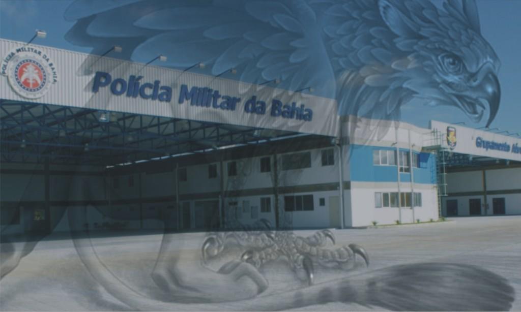 Hangar do GRAer da Bahia