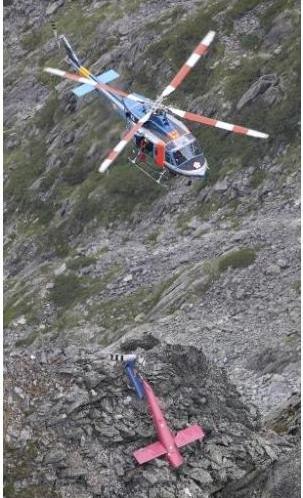 Acidente com aeronave Bell 412EP no Japão