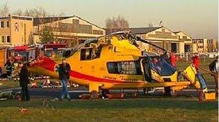 Helicóptero Agusta A-109E Power, prefixo SP-HXA, acidentado na Polônia