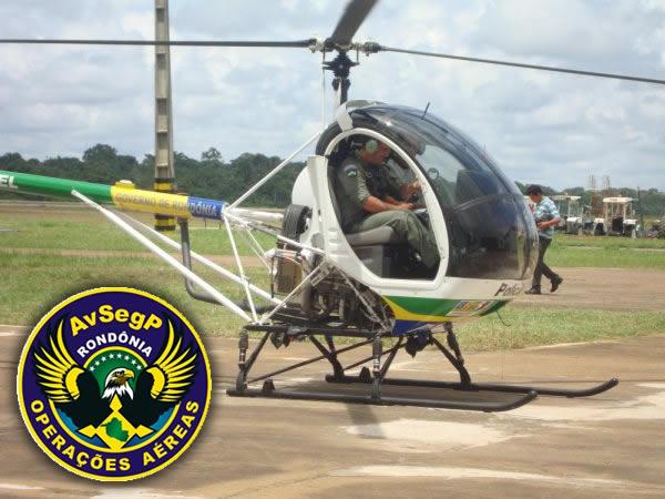 O início das operações aéreas em Rondônia