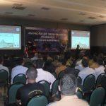 Safety Management System (SMS), palestrante Cel Av Magalhães do CENIPA. Foto: Eduardo Alexandre Beni