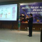 Palestra sobre Aspectos de Manutenção de Aeronaves Relacionada à Segurança Operacional Aeronáutica, palestrante Professor Alexandre Vasconcelos – ITA.