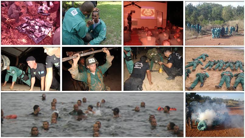 Fotos, anexadas aos autos do processo, mostram detalhes sobre o treinamento realizado em abril de 2010.  Na ocasião, Abinoão faleceu e outros 3 passaram mal.