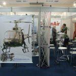 Expositores no 4º Fórum Nacional de Aviação de Segurança Pública