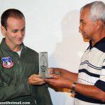 Primeiro colocado do Curso de Tripulante Operacional 2010 no Palácio das Artes em Praia Grande/SP.