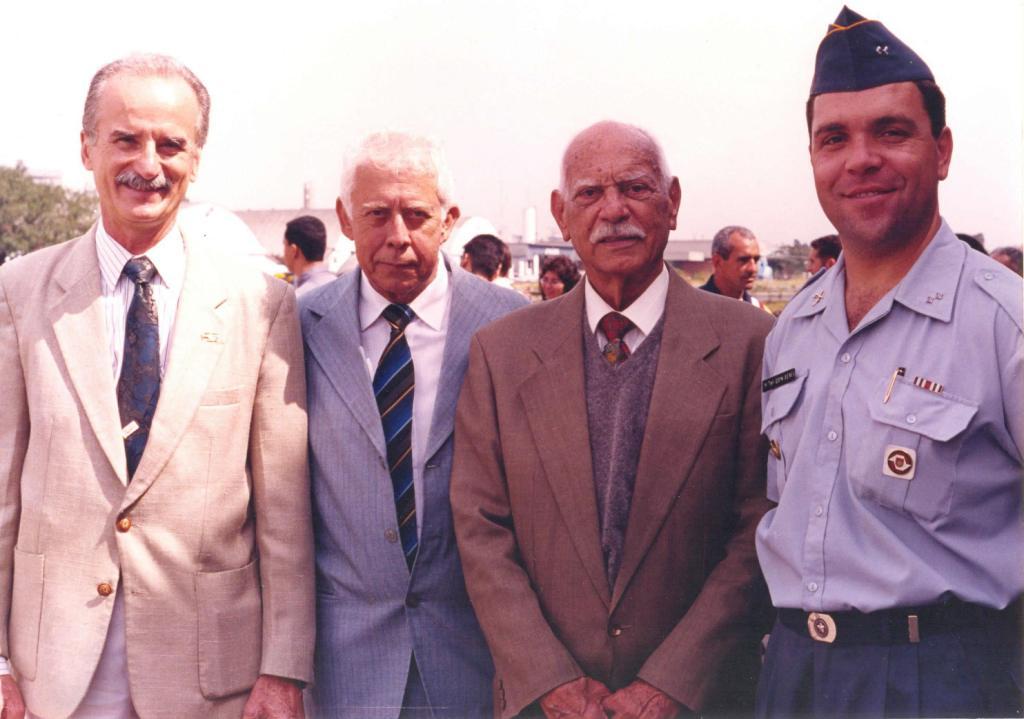 Comandante Finatti, Cel PM Caldas, Comandante Carlos Alberto, Cel PM Eduardo Alexandre Beni. Foto: Rivaldo dos Santos.