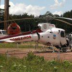 Helicóptero do Estado faz pouso forçado e tripulantes passam bem