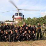 GRAER/AM realiza estágio para policiais militares de Roraima