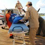 CBM/RO realiza resgate aéreo de criança com traumatismo