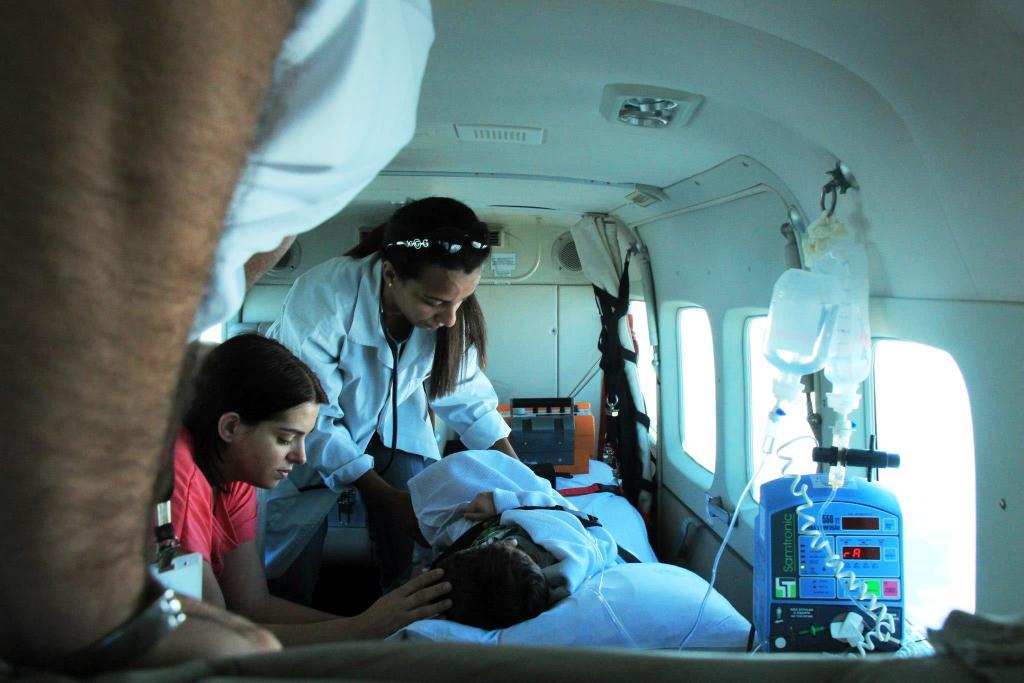 Aeronaves do Estado do Paraná agilizam transporte de pacientes e órgãos