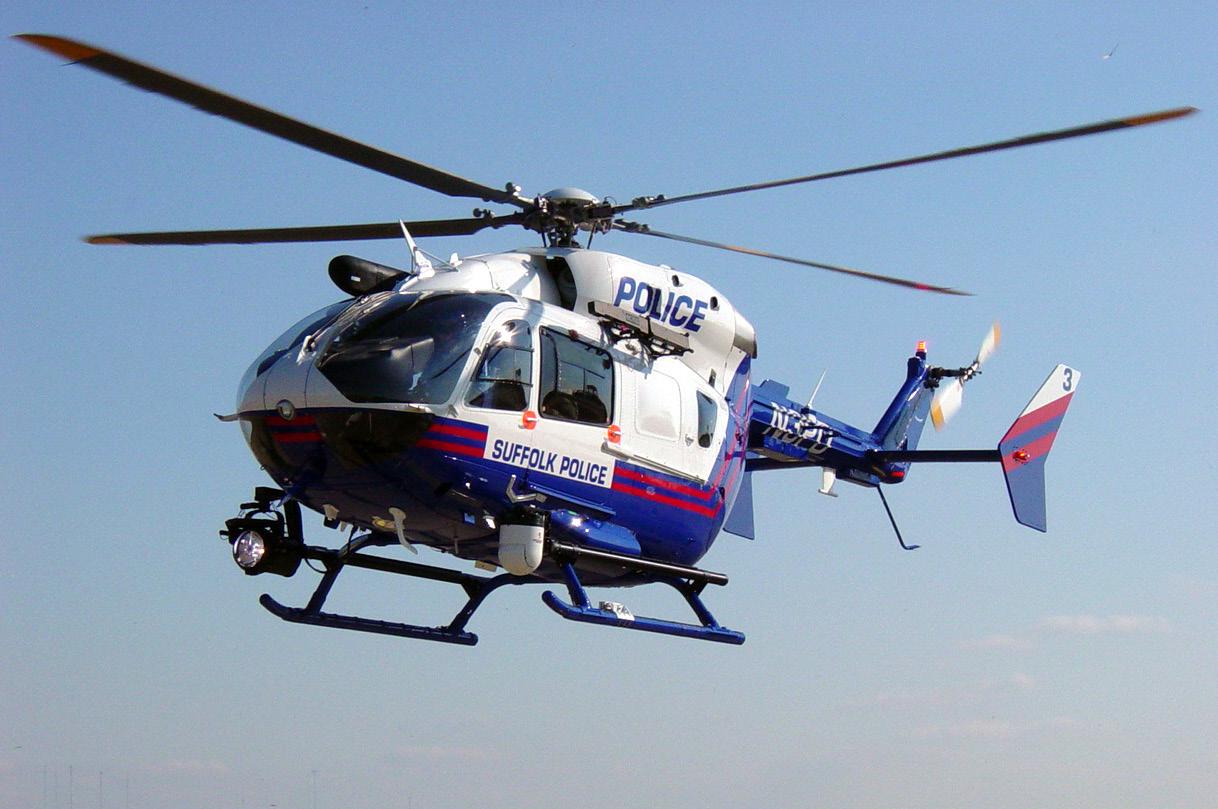 EC145 Policial. Foto: Eurocopter