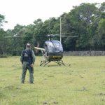 Batalhão de Aviação da Brigada Militar apoia buscas de assaltantes de banco