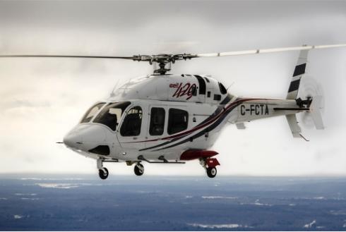 Bell 429 com trem de pouso retrátil