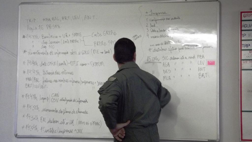 Acionamento do Plano de Resposta a Emergências (PRE) da Base de Radiopatrulha Aérea de Presidente Prudente.