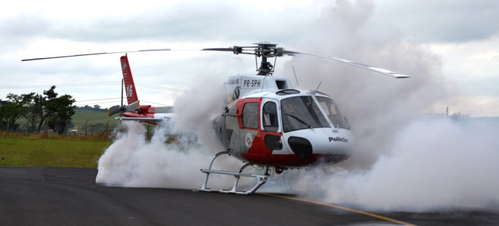 BRPAe Presidente Prudente realiza simulado de acidente aeronáutico