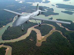 Drone da Avibras, chamado de Falcão, poderá ser equipado com armas (Foto: Avibras/divulgação)