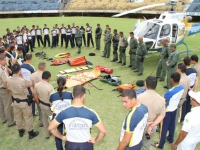 Ciopaer ministra treinamento para futuros oficiais da Polícia Militar de Tocatins